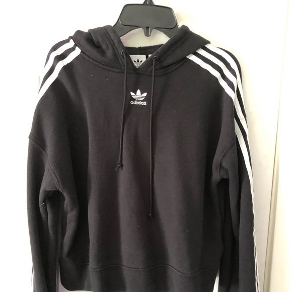 adidas Tops - Adidas black hoodie